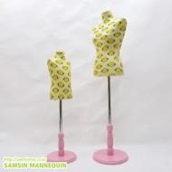 [한정판매] samsin7) 상반신가봉+컬러풀원발 [스마일-핑크]-6542