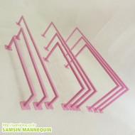 (용접형)15각 컬러풀 각ㄷ자[천정용,벽면용]-핑크-1515094
