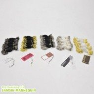 택핀줄(택중,옷핀줄,옷핀택)500개-1706