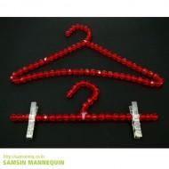 구슬옷걸이 빨강-3365