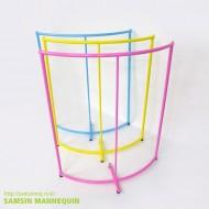 [주문품,용접형] samsin1) 반원행거 파스텔 컬러