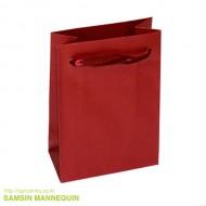 9호 고급 리본끈 펄봉투 빨강 (속옷, 악세사리 봉투)-10375