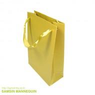 8호 고급 리본끈 펄봉투 금색 (속옷, 악세사리 봉투)-22765