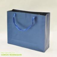 옆3절 리본끈펄봉투 [블루,파랑]-3942