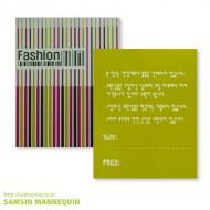 [기성택] samsin12) 패션-컬러바코드 [5팩묶음]-456741