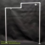 [주문품,용접형] 계단형 수도관 파이프  벽면행거-4321