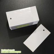 [기성택] 앞뒤무지 흰색 [4팩묶음]-425714