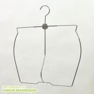 남자고급철재수영복옷걸이 [10개묶음] -4697