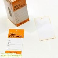 [기성택] samsin12) 프라이스 인디케이션-오렌지 [5팩묶음]-30893