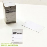 [기성택] samsin12) 프라이스 인디케이션-그레이 [5팩묶음]-39823