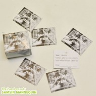 [기성택] samsin12) 패션아이템-실사택 [5팩묶음]-23908