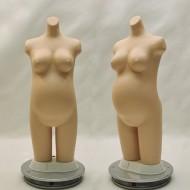 임산부 살색 무형광 토르소(51243)