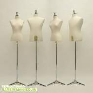 samsin3) 타임여자 또는 남자가봉 + 목캡 + 납작삼발이 [크롬] -36500