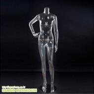 HZF-003 여자전신 투명 플라스틱 -60062