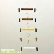 YH 나무바지집게 [모듬컬러]-10개묶음