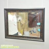 (z) 몰딩장식 고급 거울 [월넛] -28937