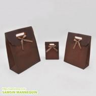 고급 덮개봉투-무지밤색(속옷, 악세사리)-12장묶음-1234